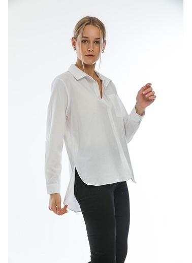 Şimal Gömlek Beyaz